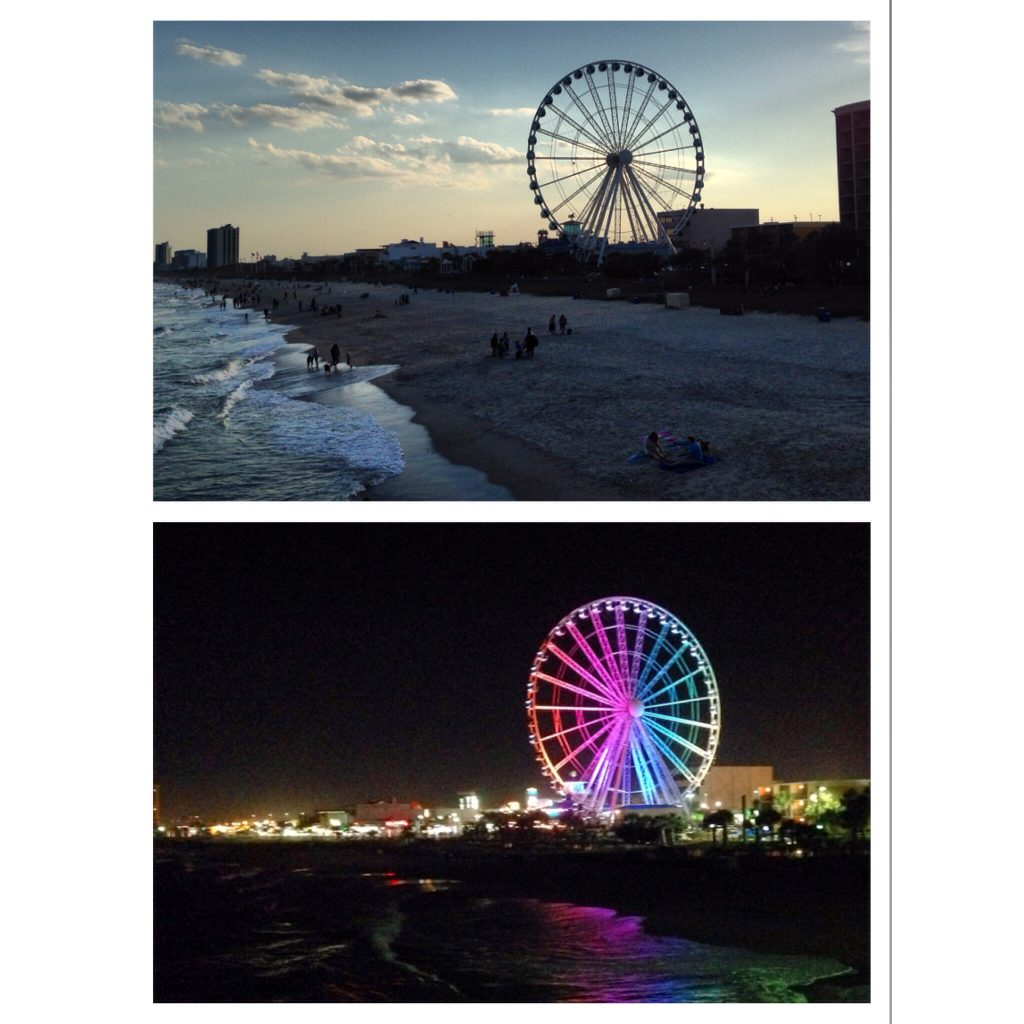SkyWheel Day & Night!
