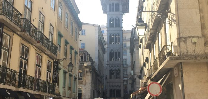 Santa Justa Lift (Carmo Lift) – Lisbon, Portugal