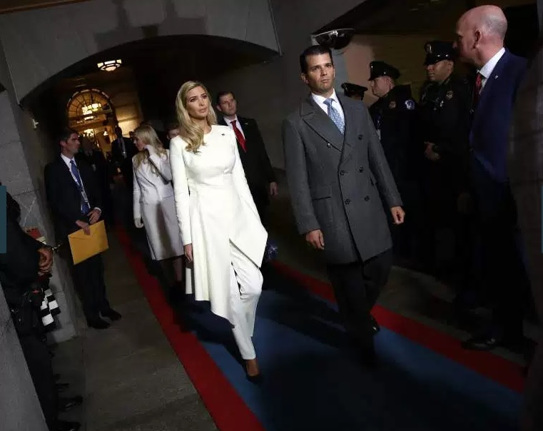 Inauguration Day 2017 - Ivanka Trump
