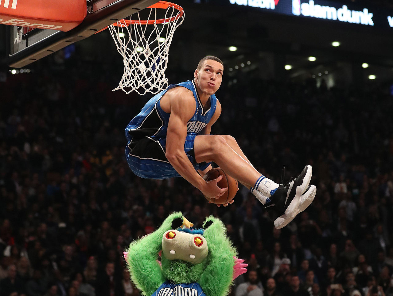 NBA All-Star Slam Dunk Contest - Aaron Gordon