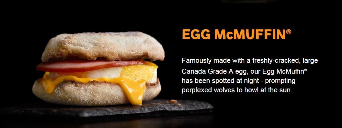 #AllDayBreakfast - Egg McMuffin