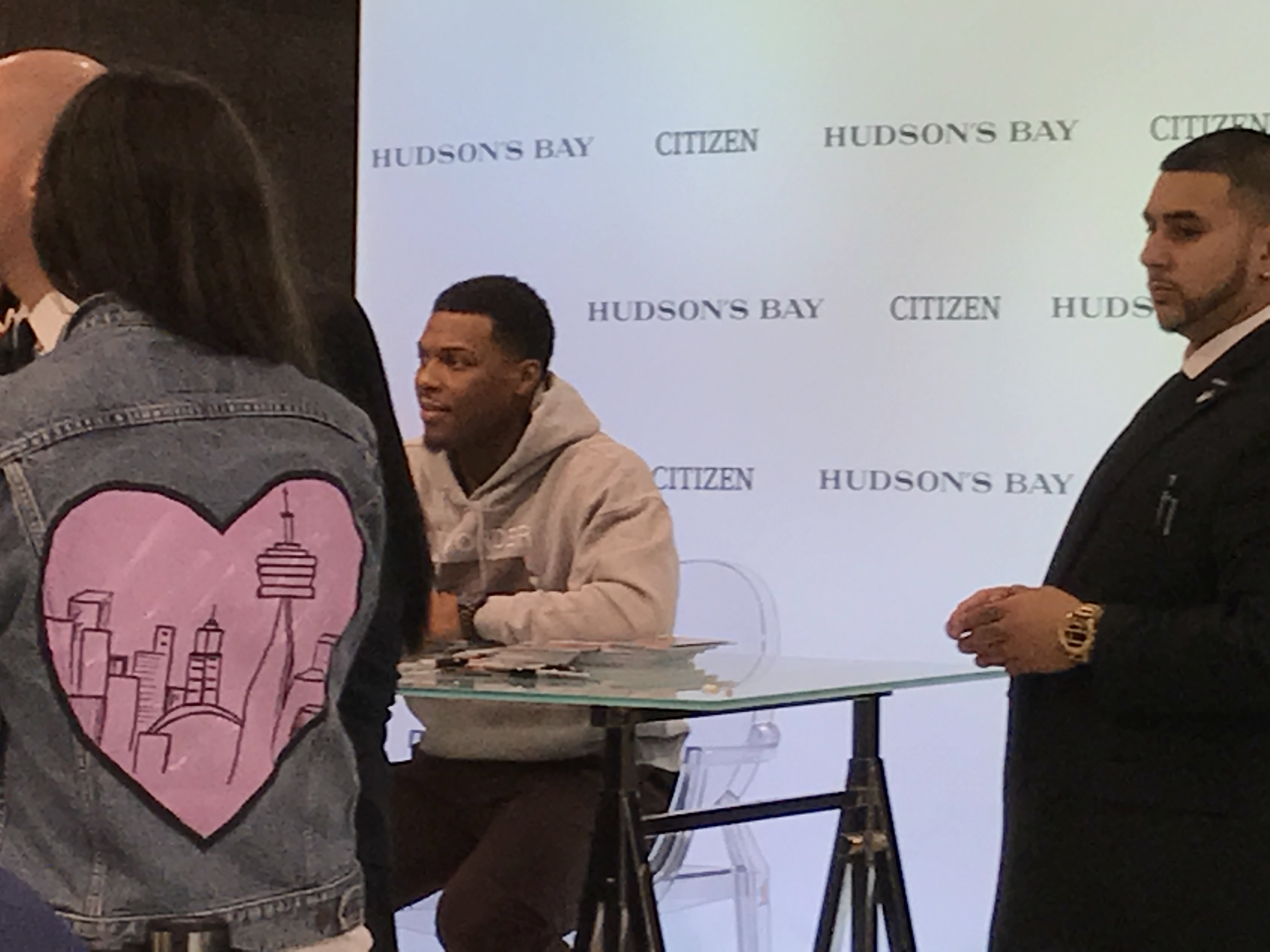 Kyle Lowry x Citizen Nighthawk Event at Hudson's Bay