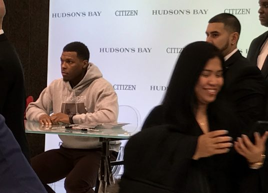 Raptors Kyle Lowry x Citizen Nighthawk Watch Event at Hudson's Bay
