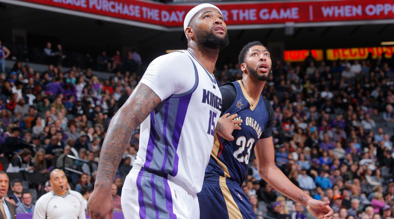 DeMarcus Cousins & Anthony Davis