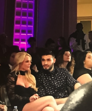 Britney Spears & Sam Asghari at Art Hearts Fashion. (Photo Credit: @MissHousexy - MoVernie on the MOVE, LA Correspondent)