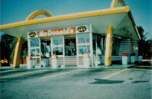 1967 McDonald's Canada, Richmond BC  (Photo Credit: McDonald's Canada)
