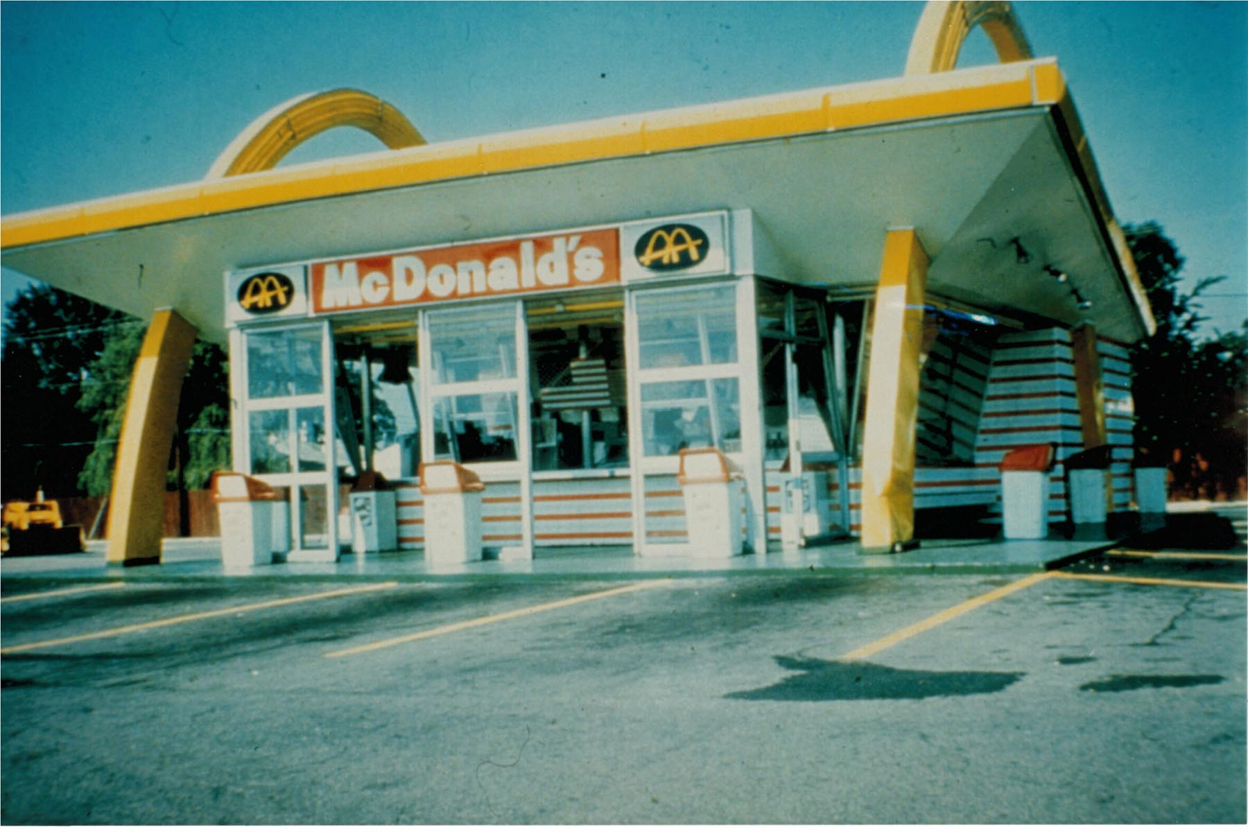 1967 McDonald's Canada, Richmond BC (Photo Credit: McDonald's Canada)