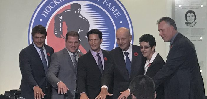 2017 Hockey Hall of Fame (HHOF) Inductee Ring Ceremony – Press Conference
