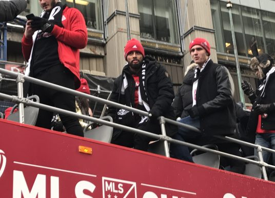 TFC Parade – MLS Cup Championship Celebration in Toronto (Reds Day)