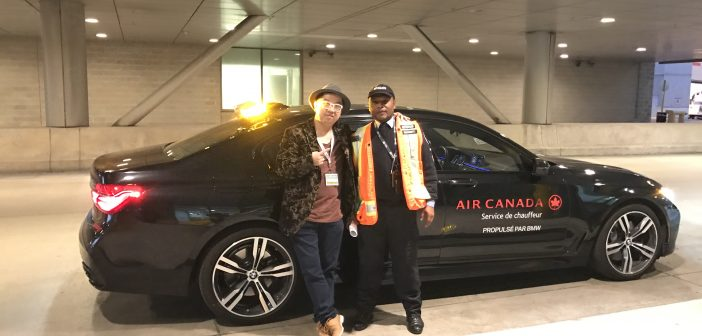 BMW 7 Series – Touring the Tarmac at Toronto Pearson Airport (Terminal 1)