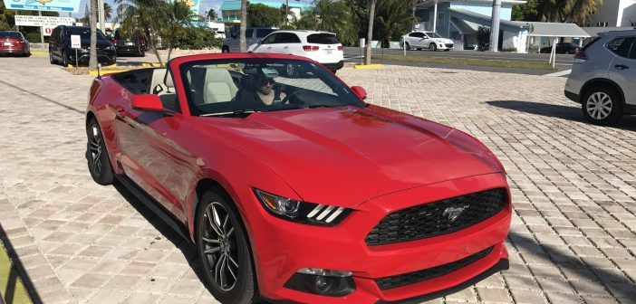 2017 Ford Mustang Convertible: Scenic Drive – Key West to Miami, Florida (USA)