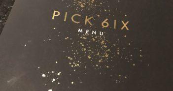 (Now Open) Pick 6ix Toronto – Food Menu