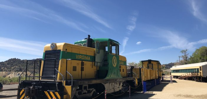 Truckee Railroad Train Ride – Virginia City, Travel Nevada #DFMI