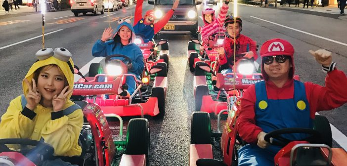 MariCAR Go Kart in Tokyo, Japan (MUST TRY) – Photos Taken By Our MariCar Guide Isabel
