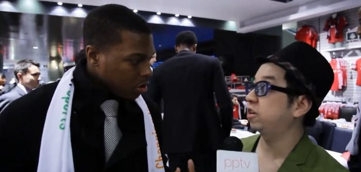 Raptors Kyle Lowry – My Interview at the MLSE Foundation Charity Event (Throwback 2013)