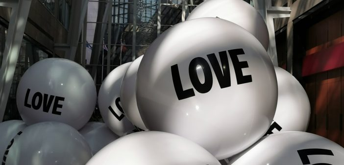 Big Love Ball – Art Installation – Brookfield Place – Toronto, Canada
