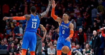 Report: OKC Thunder offered Raptors Westbrook, George to the Raptors prior to sending George to the Clippers