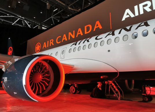 Highlights – Photos – Air Canada's First Airbus A220 Aircraft Open House Event – Montreal, Quebec