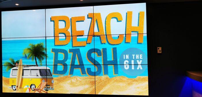 #BeachBash at Ripleys Aquarium of Canada – Toronto, Canada