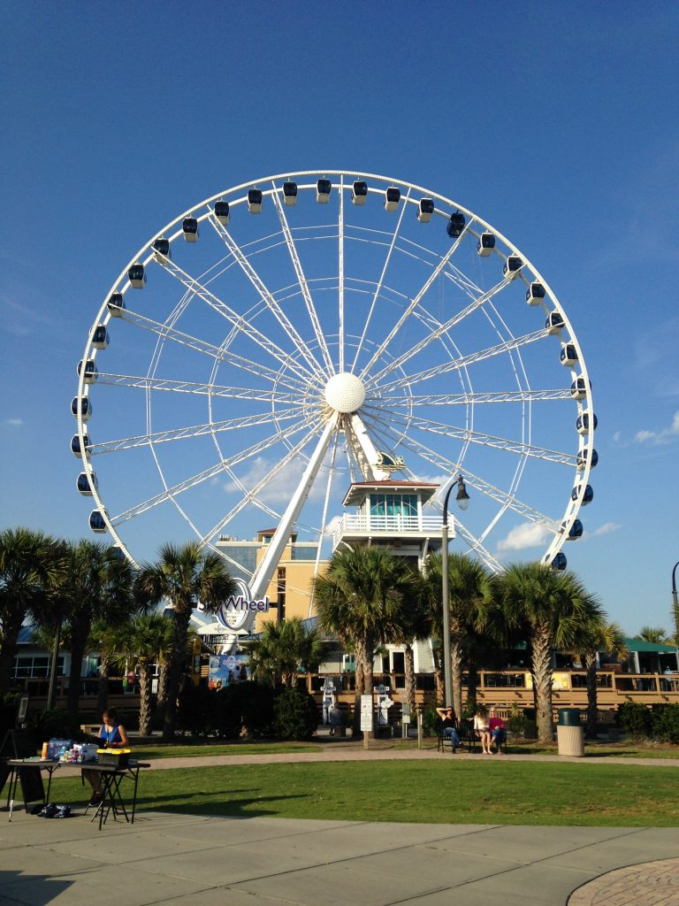 SkyWheel during the day