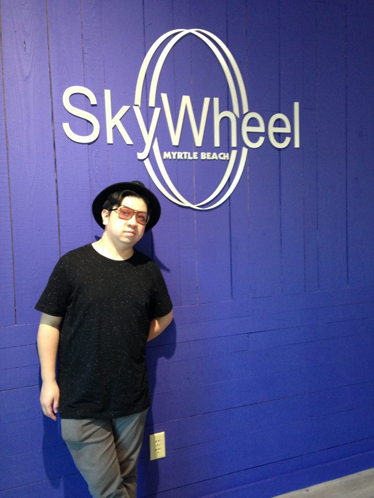 Me posing with the SkyWheel