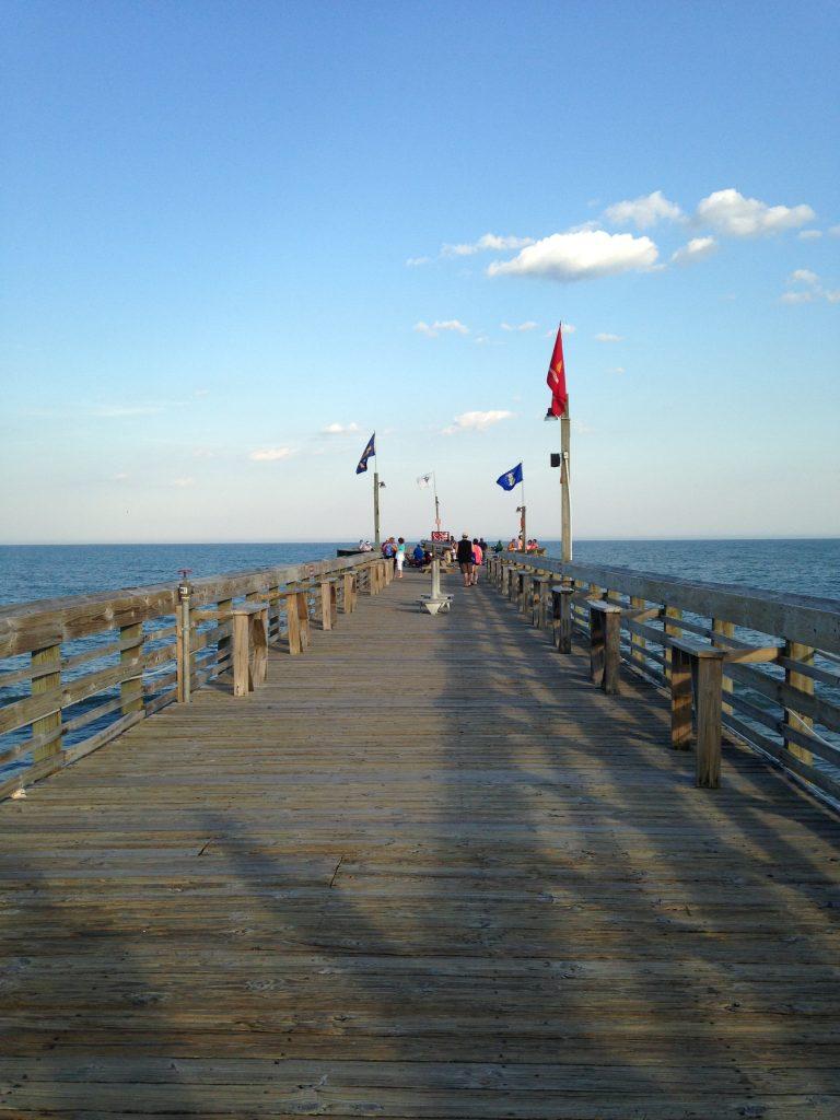 Nice walk on the Pier 14