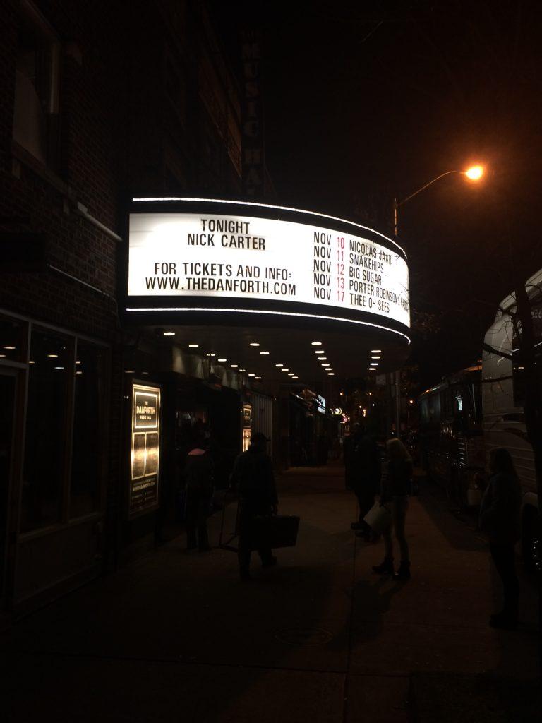 Nick Carter Concert