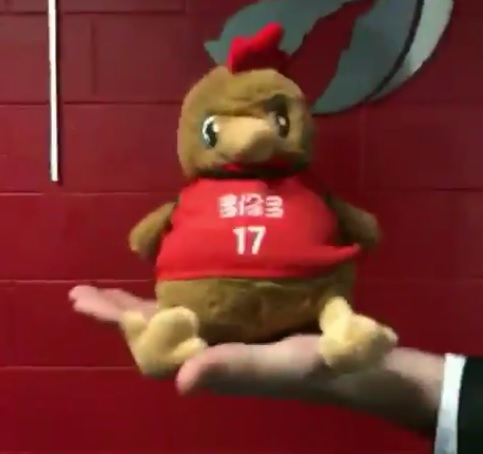 Toronto Raptors - Chinese New Year 多倫多 plush toy