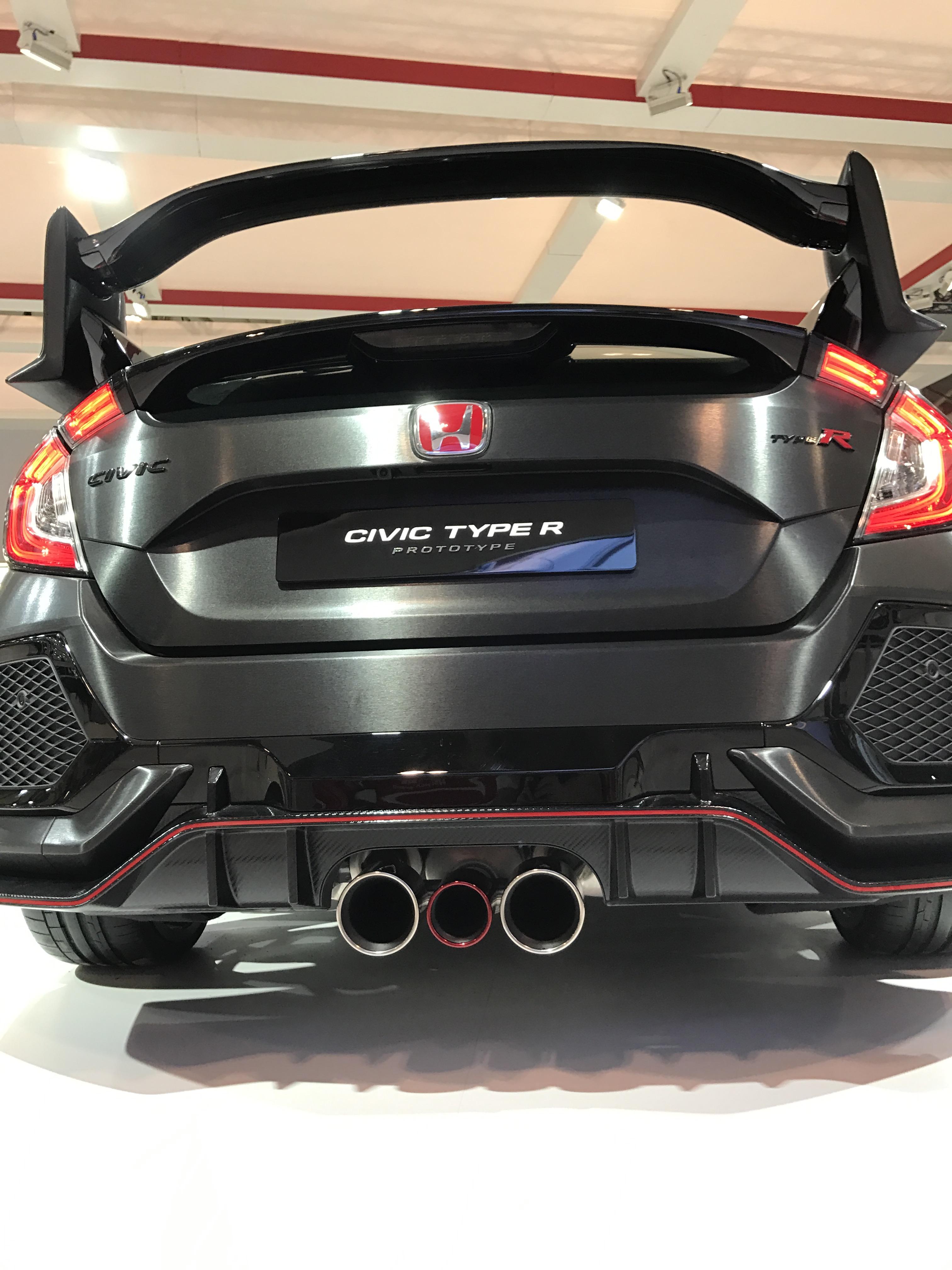 Honda Civic Type R Prototype - Canadian International Autoshow #CIAS2017