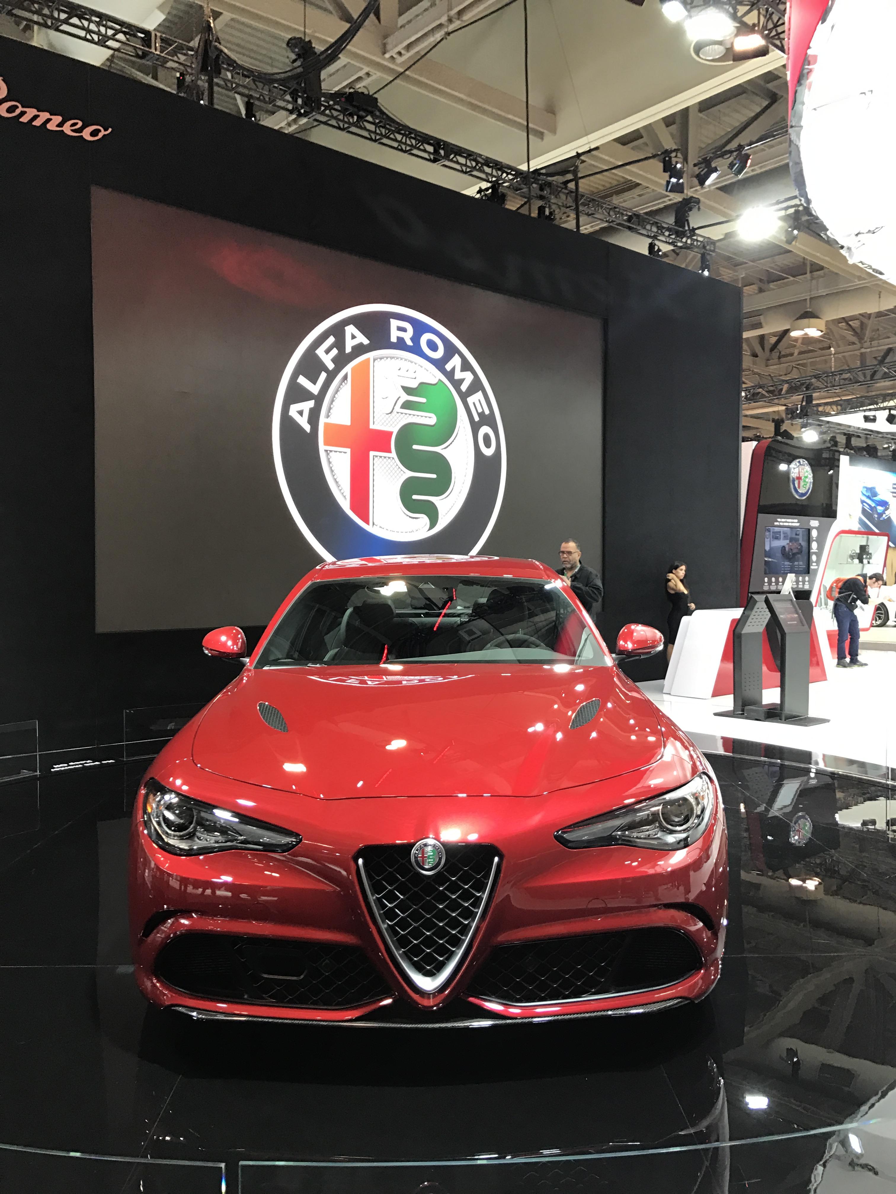 Alfa Romeo - Canadian International Autoshow #CIAS2017