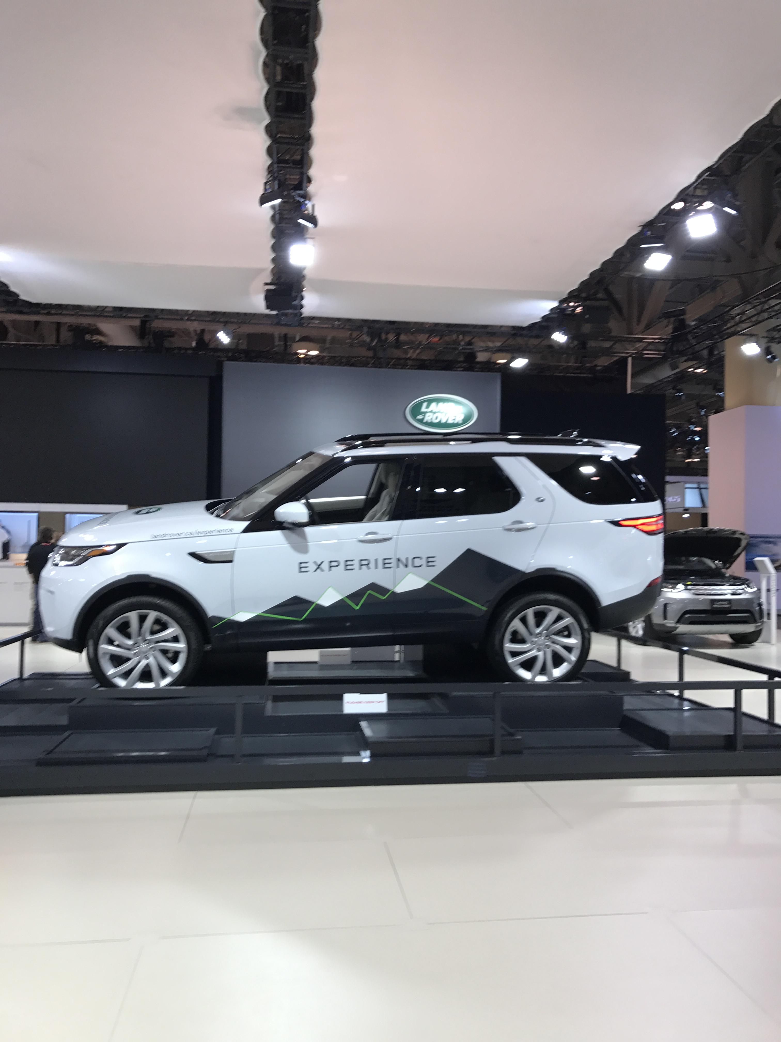 Land Rover - Canadian International Autoshow #CIAS2017