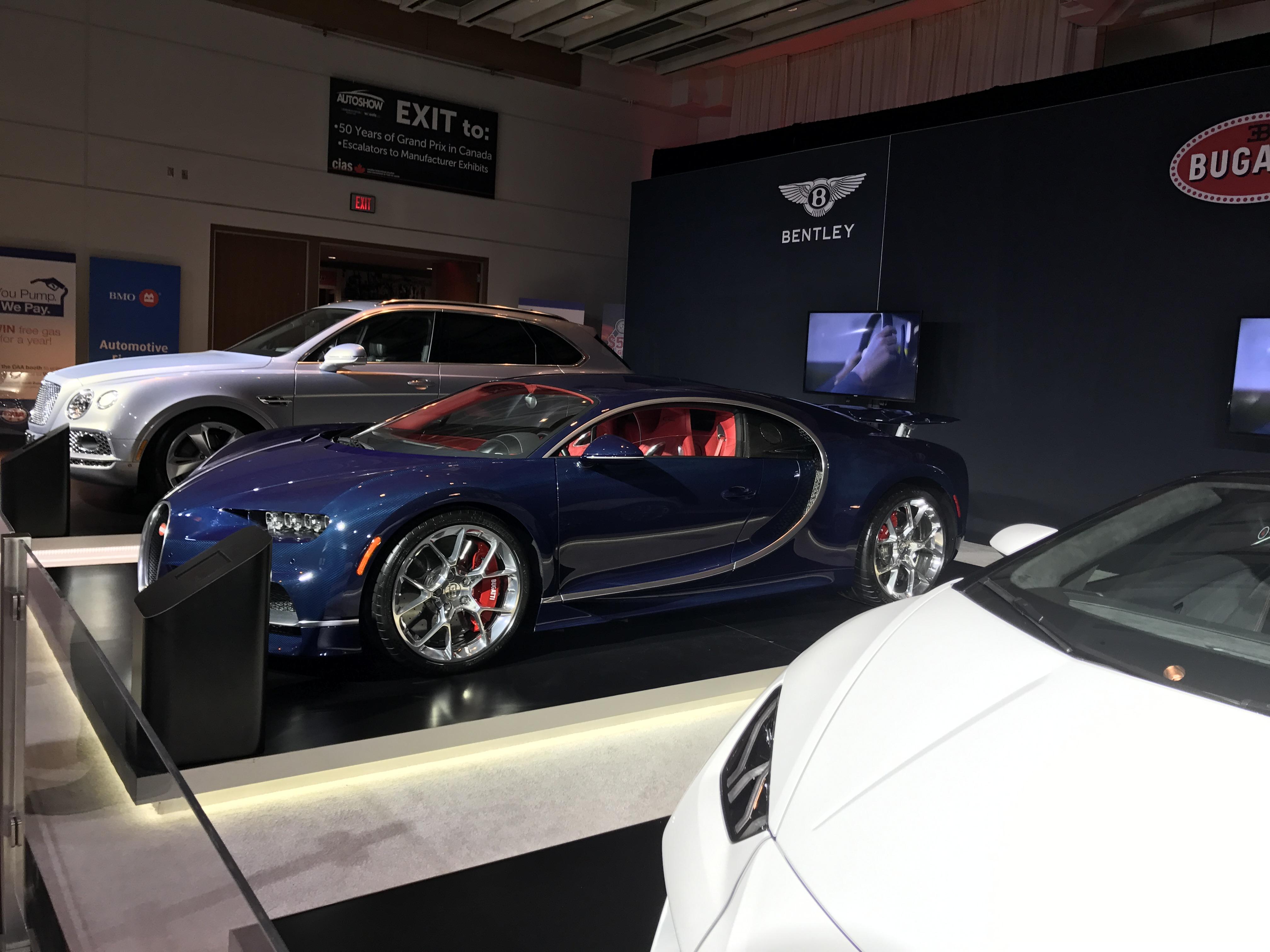 Bugatti - Canadian International Autoshow #CIAS2017