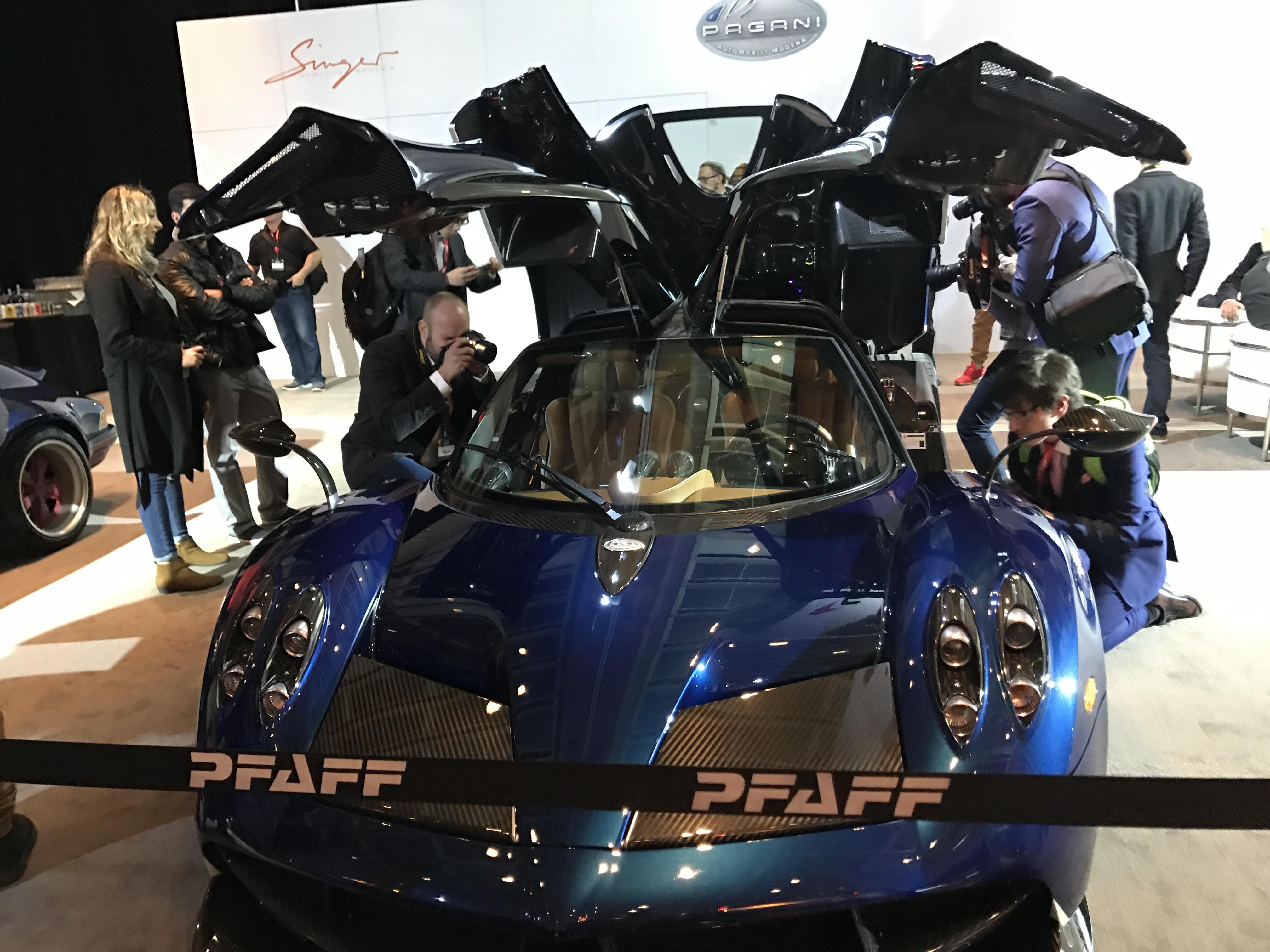Pagani - Canadian International Autoshow #CIAS2017