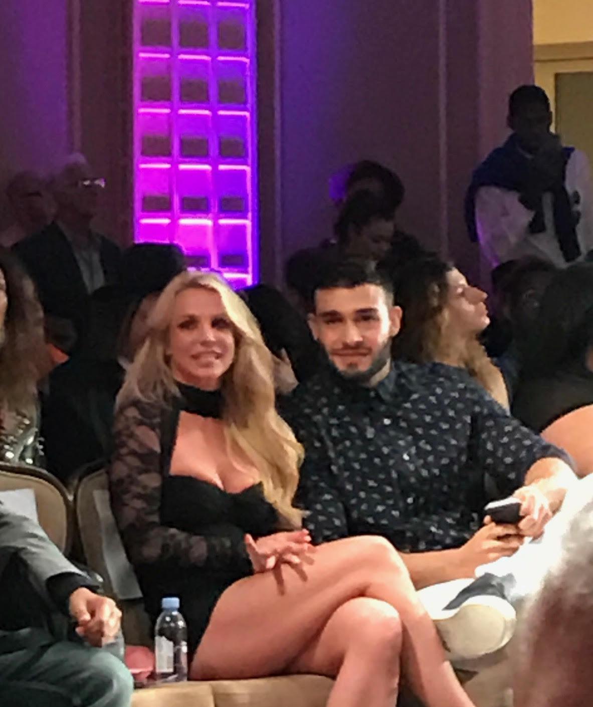 Britney Spears & Sam Asghari - Art Hearts Fashion (#LAFW)
