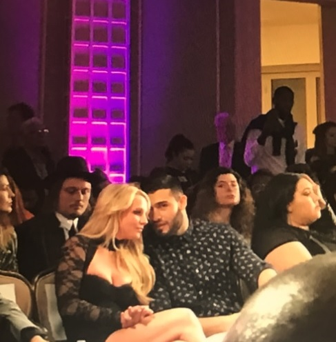 Britney Spears & Sam Asghari at Art Hearts Fashion. (Photo Credit: @MissHousexy - MoVernie on the MOVE, LA Correspondent)