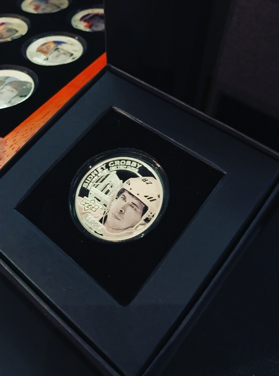 Upper Deck Grandeur Limited Edition Hockey Coins