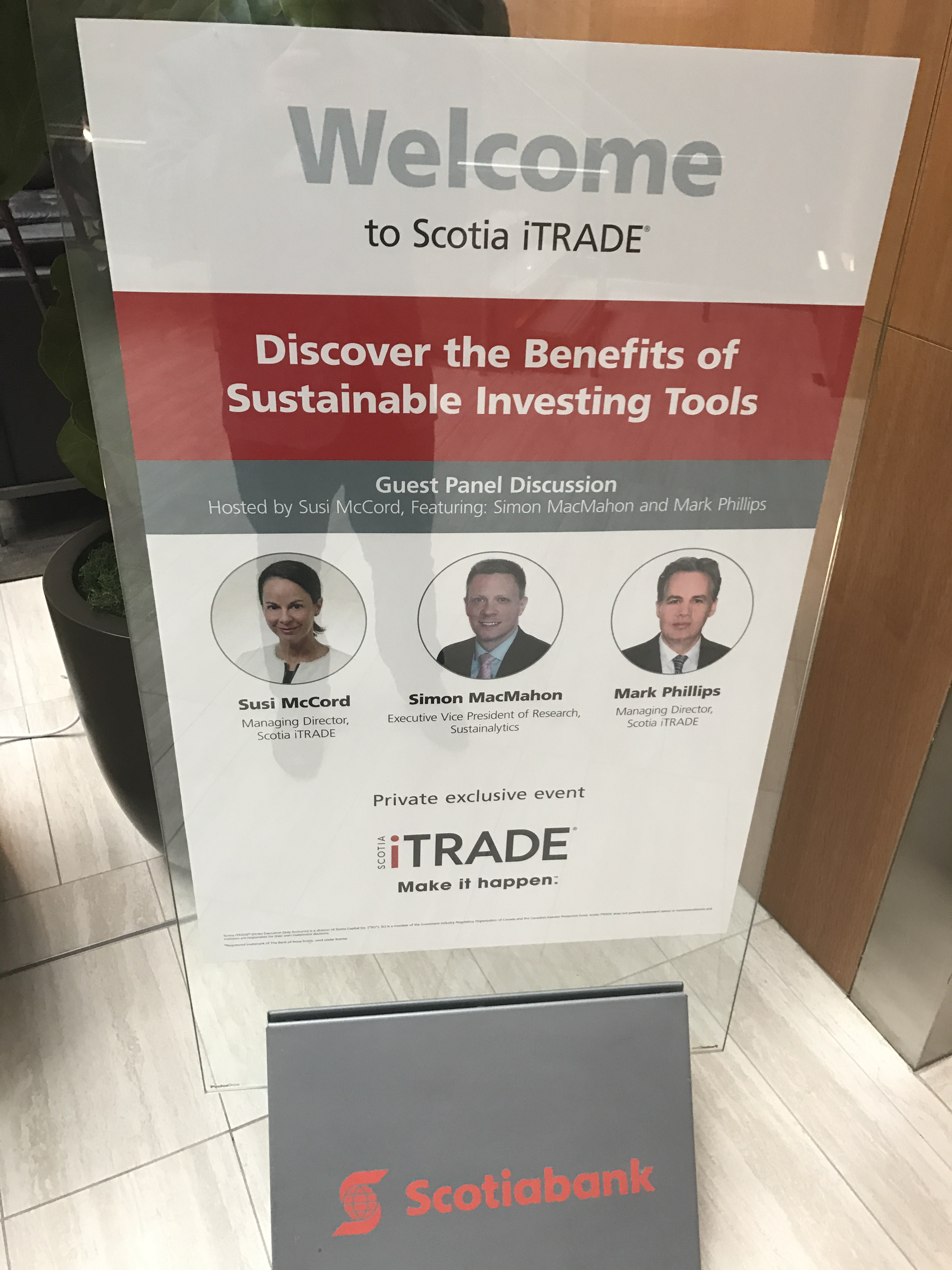 Scotia iTrade - Sustainable Investing