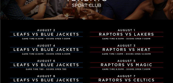 (Now Open) Toronto Sport Club – Private Member ONLY Viewing Sporting Events Venue (Leafs, Raptors, Jays) – Toronto, Canada