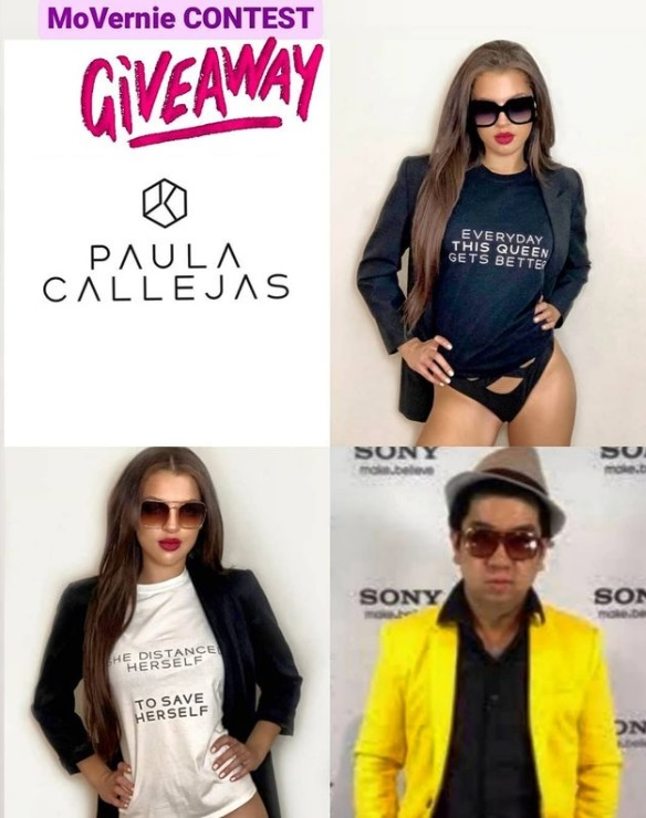 #MoVernieContest: Giveaway Paula Callejas Tee