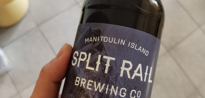 Loon Song Oat Stout – Split Rail Brewing Co. – Gore Bay (Manitoulin Island), Ontario, Canada [CRAFT BEER SERIES]