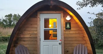Spring is Here! Time for Glamping – A Deluxe Pod – Long Point Eco Adventures – St. Williams, Ontario, Canada [ONTARIO TRAVEL SERIES]