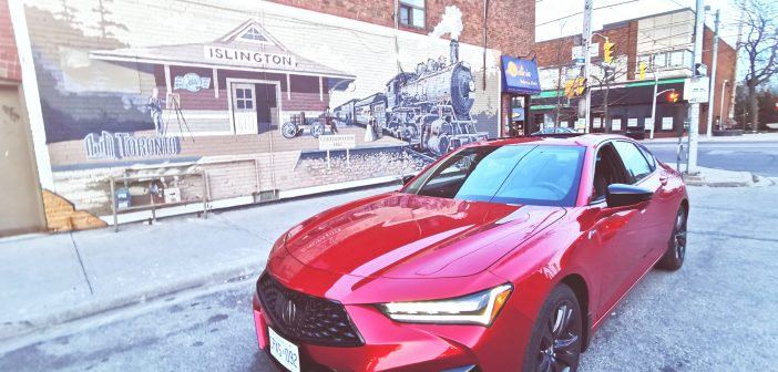 (On the MOVE) with 2021 Acura TLX A-SPEC – Explore & Discover [Ontario Travel Series]