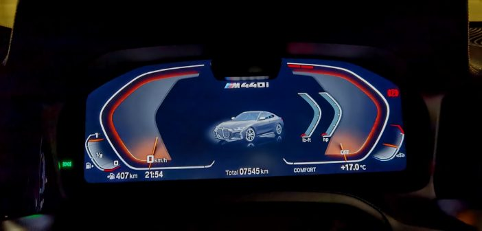Night Mode Driving – 2021 BMW M440i xDrive Coupe