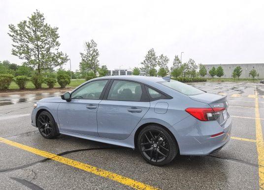 SPOTTED – 2022 Honda Civic Sedan – Sport Trim Level – Toronto, Ontario, Canada
