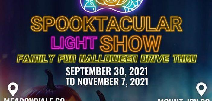 Spooktucular Light Show – Halloween Drive-Thru Experience (September 30 to November 7, 2021)