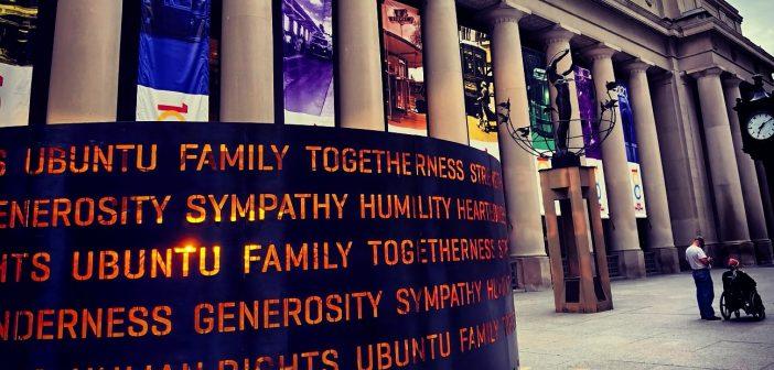 Humanity – Masai Ujiri Public Art Installation – Toronto Union Station, Ontario, Canada