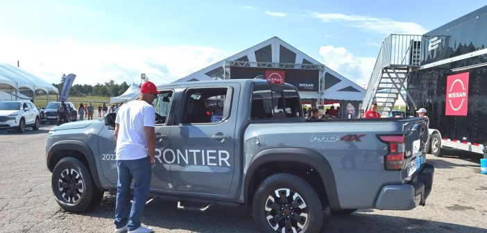 2022 All-New Nissan Frontier Mid-Size Pickup Truck – As Seen at Drive Festival